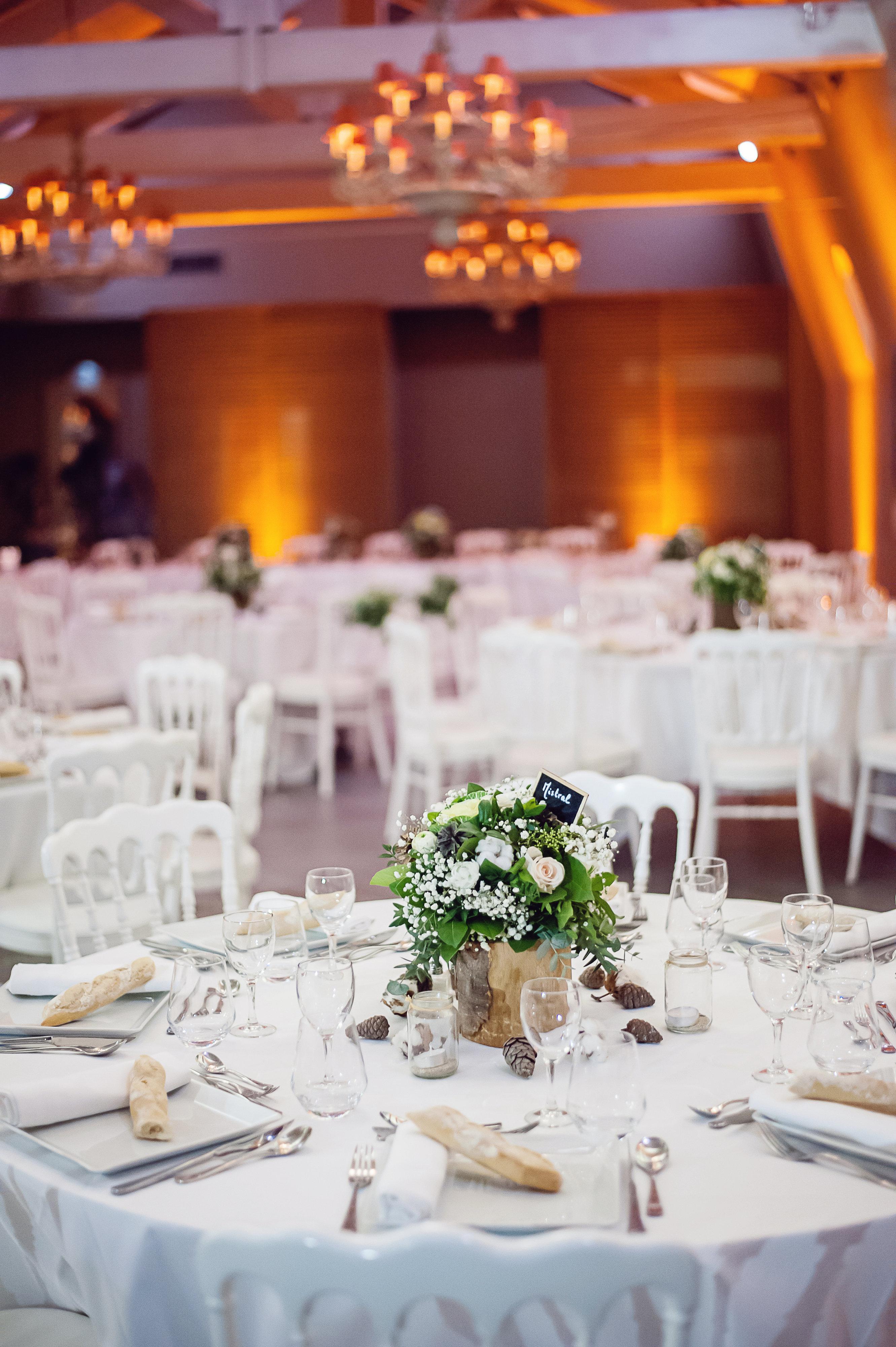 Une jolie table pour mon mariage !