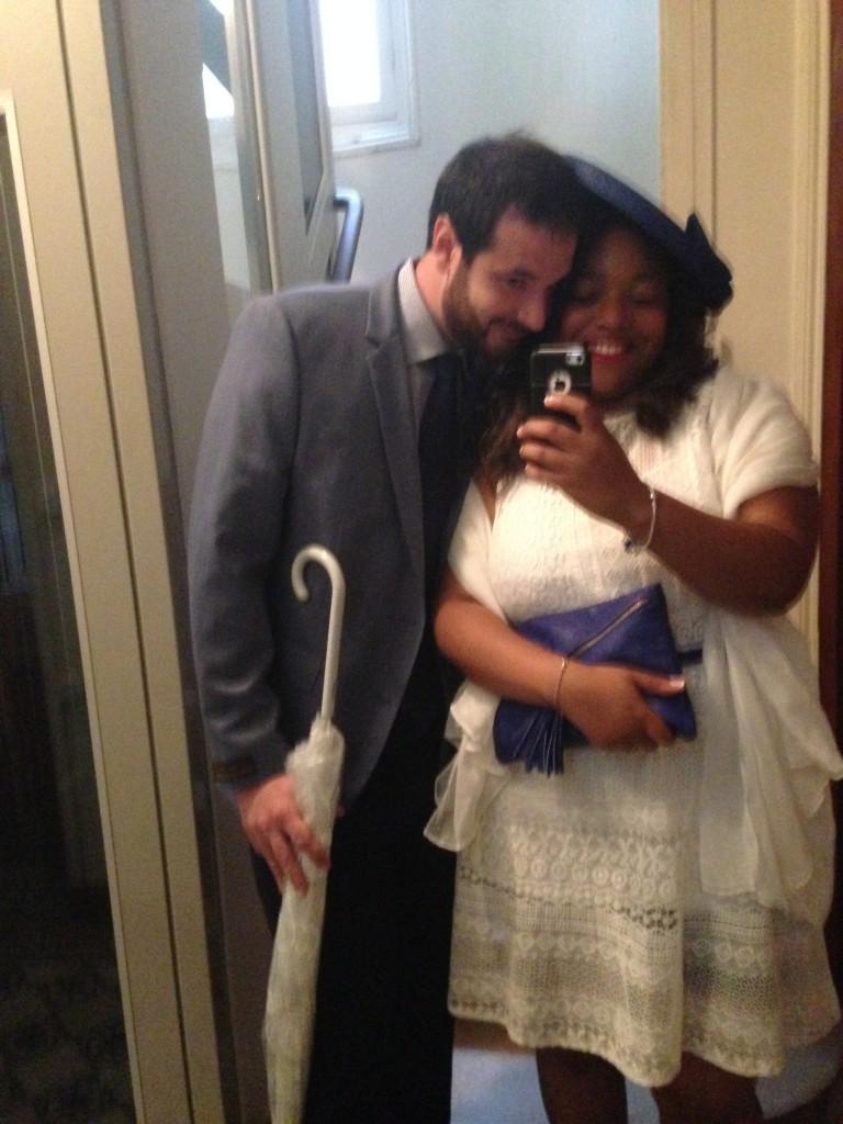 Mon mariage civile improvisé 1