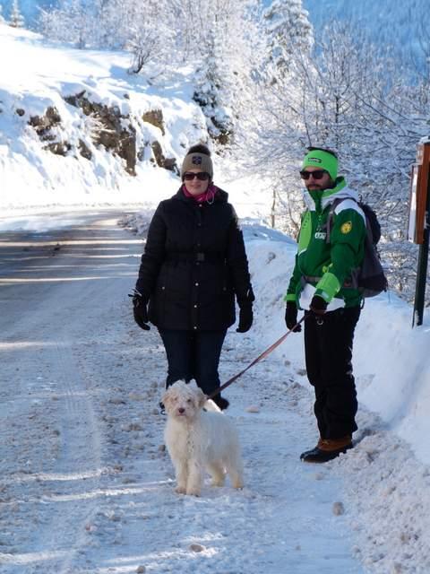Un pré-voyage de noces au ski