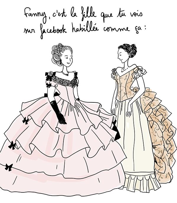 Comment choisir sa robe de mariée ? // Illustration : Bérengère Demoncy