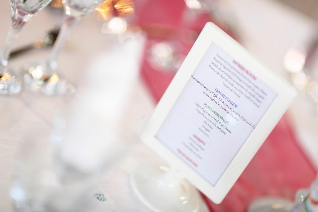 Menu de notre mariage malgache // Photo : Ymagoo