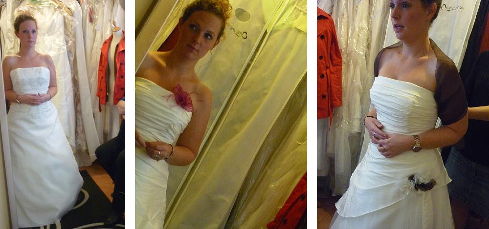 La recherche de la robe : essayages et questionnements - Partie 1