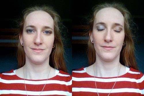 Essais maquillage pour le mariage