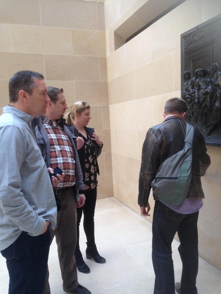 Visite du Louvre avec la famille de Monsieur