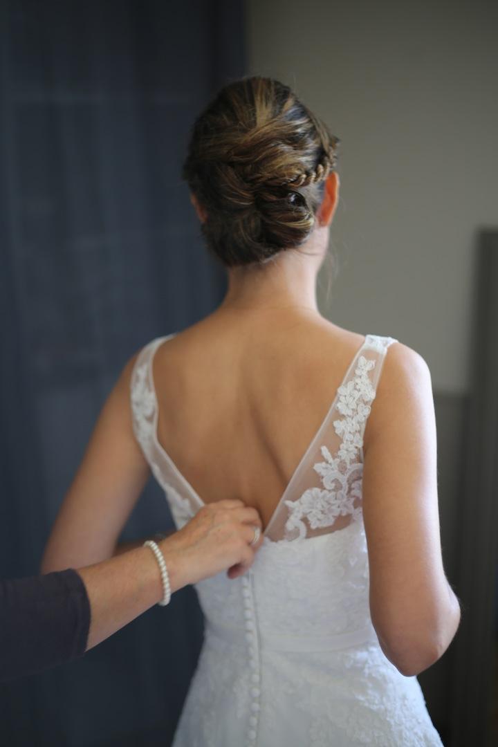 Le mariage champêtre et vintage d'Amandine