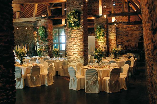 Notre top 3 des salles de réception en Wallonie : l'intérieur de la Ferme de Beaurieux