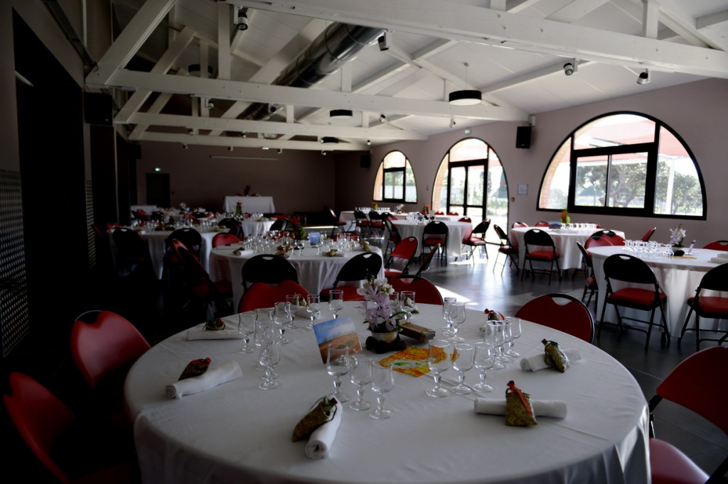 La Salle des Voiles Rouges, pour notre mariage