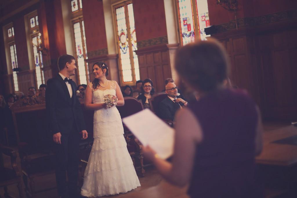 Le discours de ma Maman à la mairie // Mon mariage en hiver et en origami : notre cérémonie civile entre rires et émotions