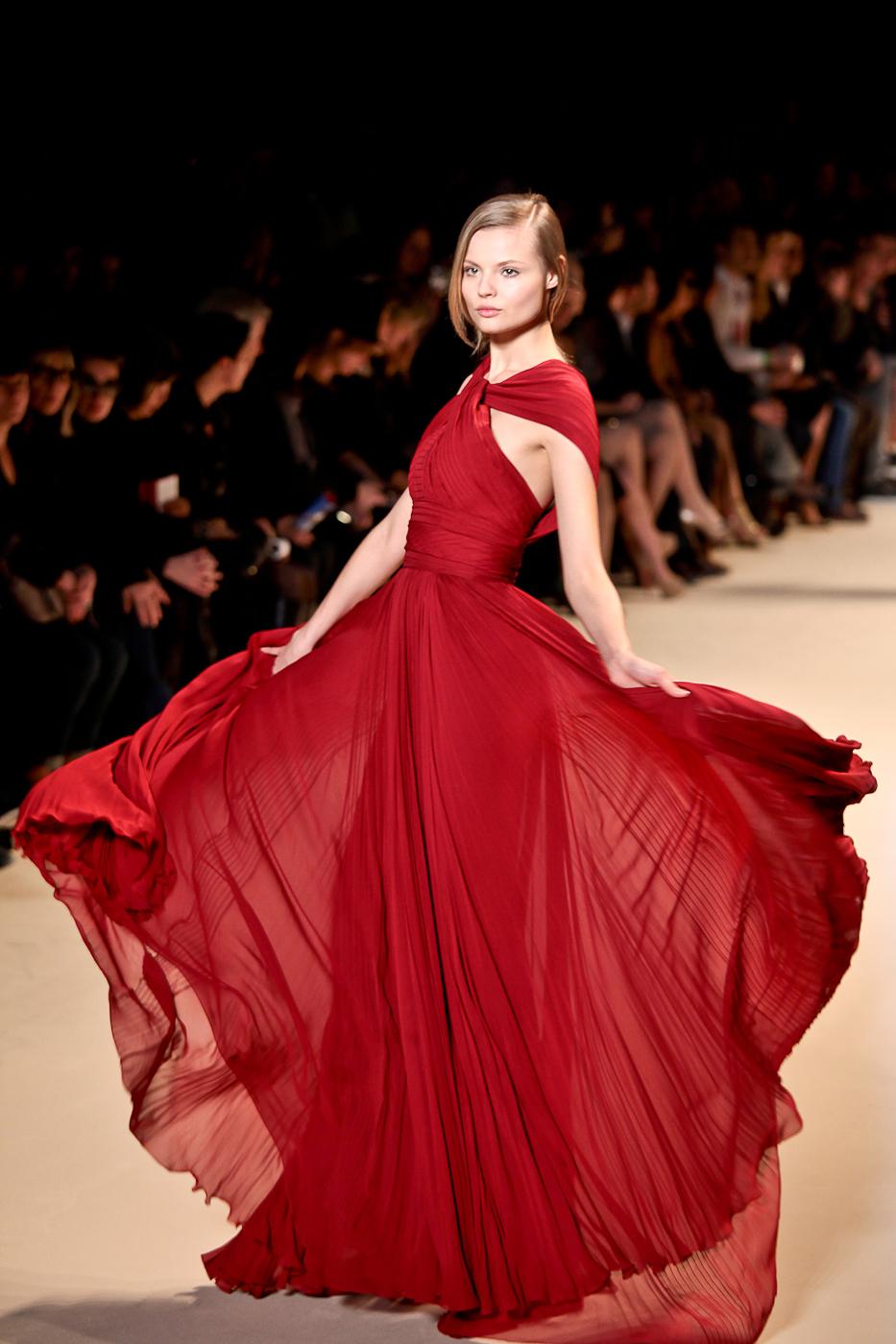 robe de soirée colorée elie saab