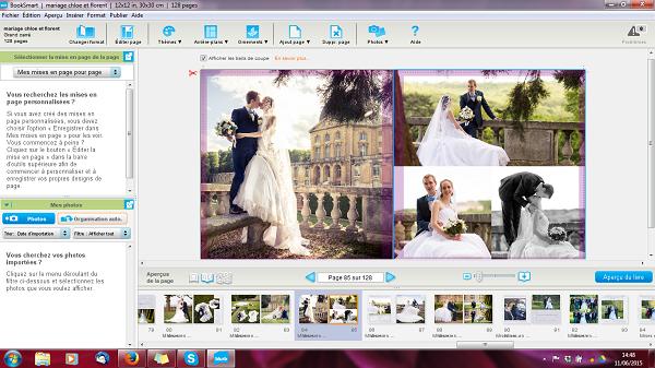 Comment faire un livre photo de mon mariage avec Blurb ?