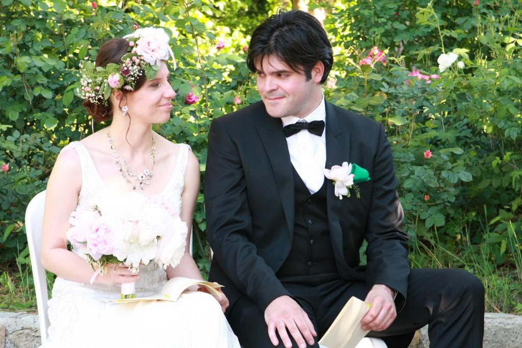 Le mariage de printemps, romantique et floral, de Mme la Rose (15)