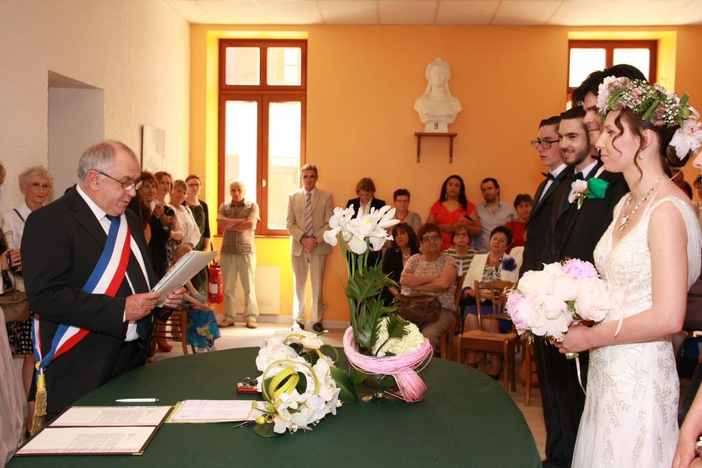 Le mariage de printemps, romantique et floral, de Mme la Rose (4)