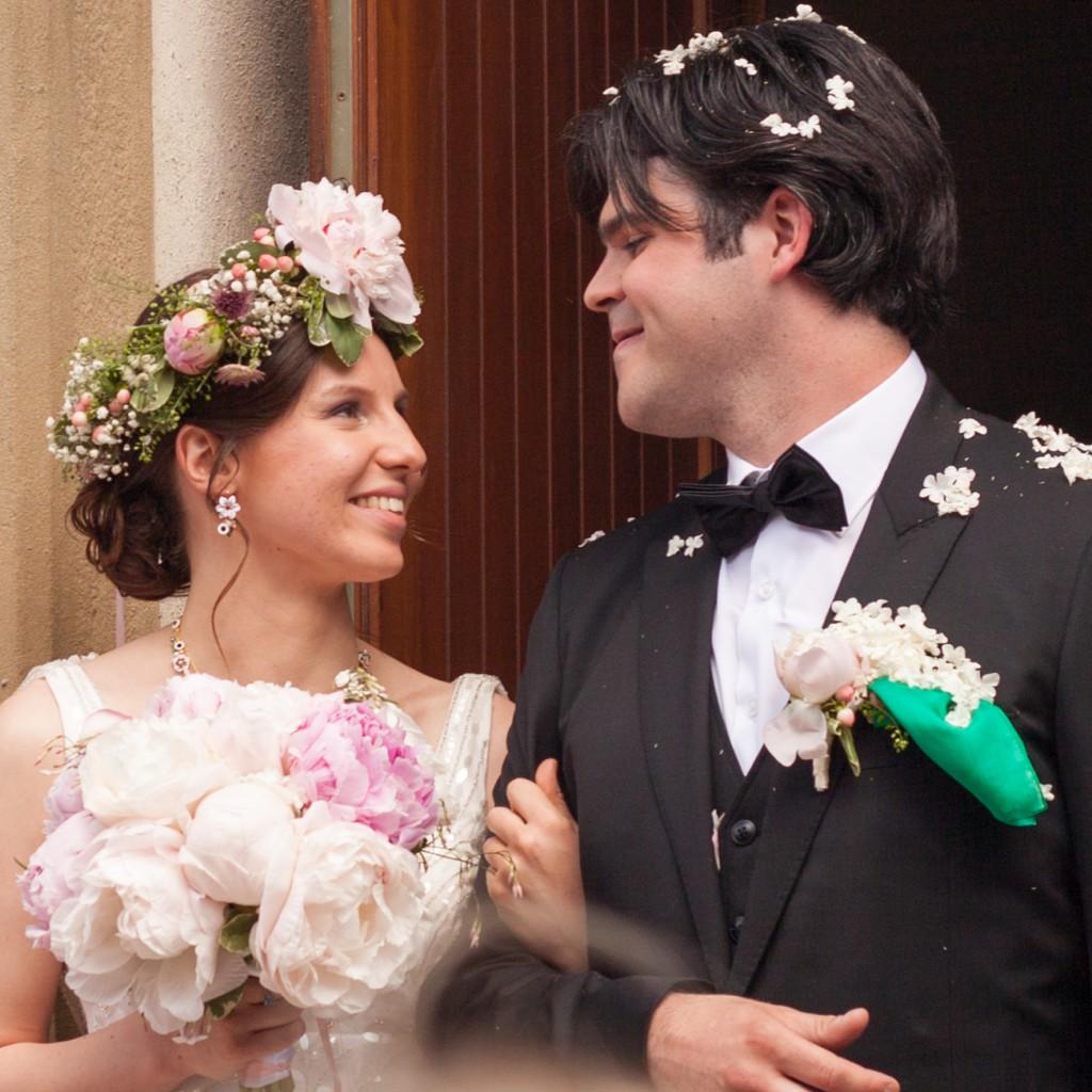 Le mariage de printemps, romantique et floral, de Mme la Rose (7)