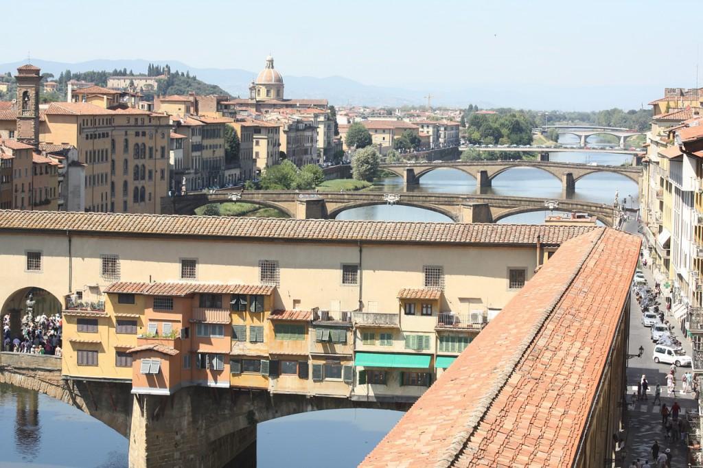 Nous n'aurons pas un... mais deux voyages de noces avec un pré-voyage à Florence !