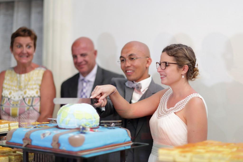 Le dessert des mariés ! // Photo : Ymagoo