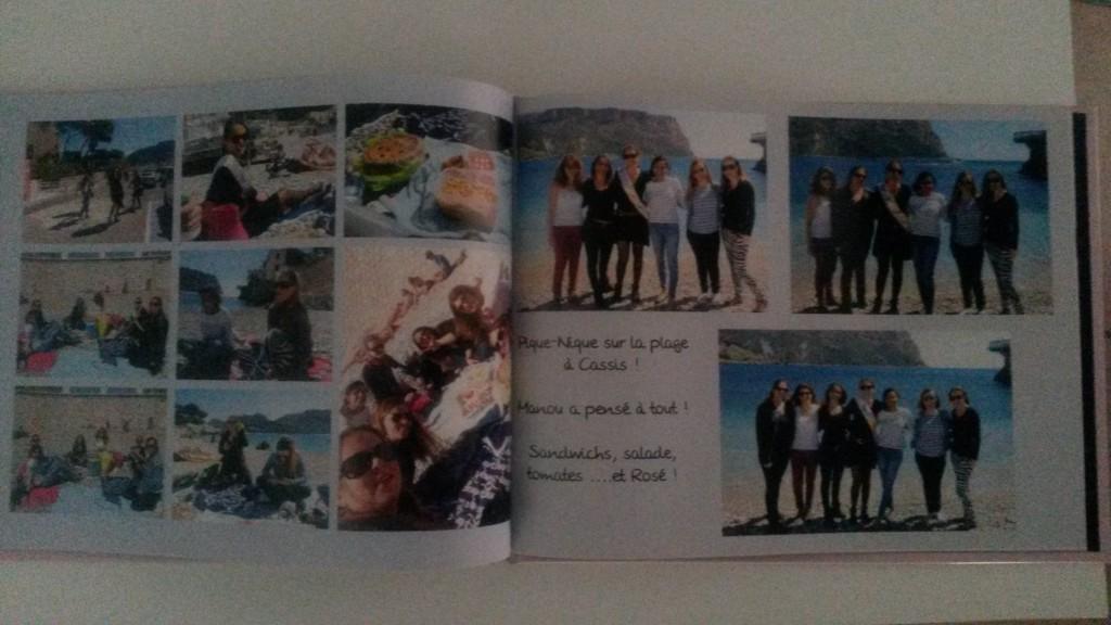 Un livre photo de mon EVJF !