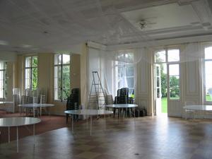 Visite du château de Varengeville en Normandie pour notre salle de mariage !