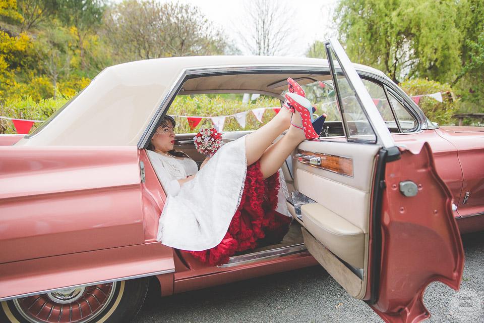 Une voiture ancienne pour mon mariage ! // Photo : Caroline Bouchez