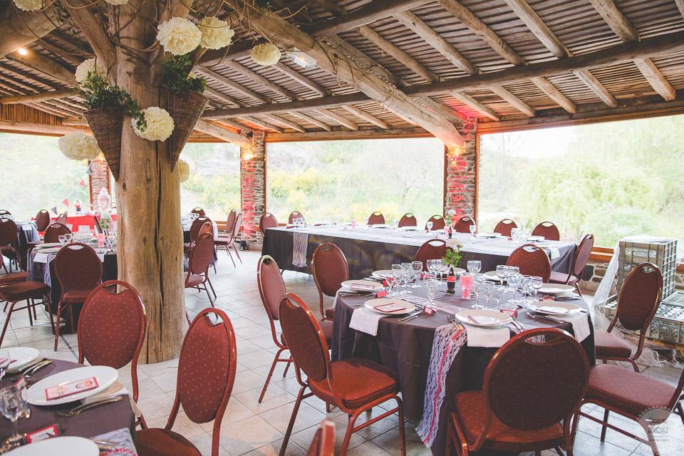 La décoration intérieure le jour J // Photo : Caroline Bouchez
