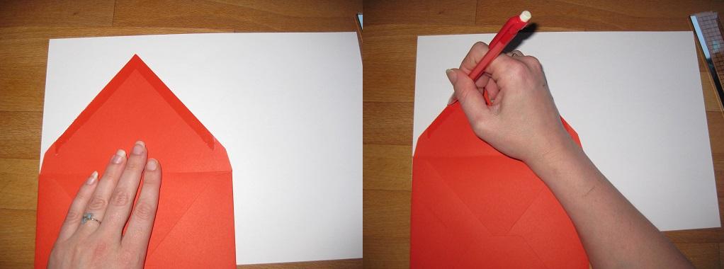 DIY customiser ses enveloppes avec un fond doublé