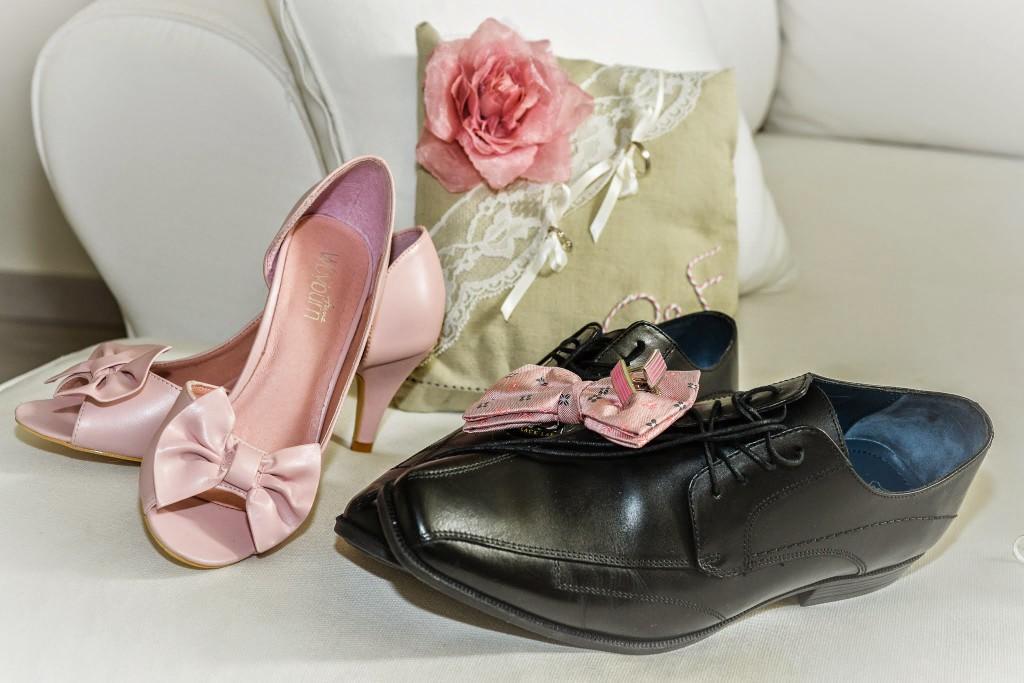 Le mariage champêtre romantique de Cécile avec une touche de rose (2)