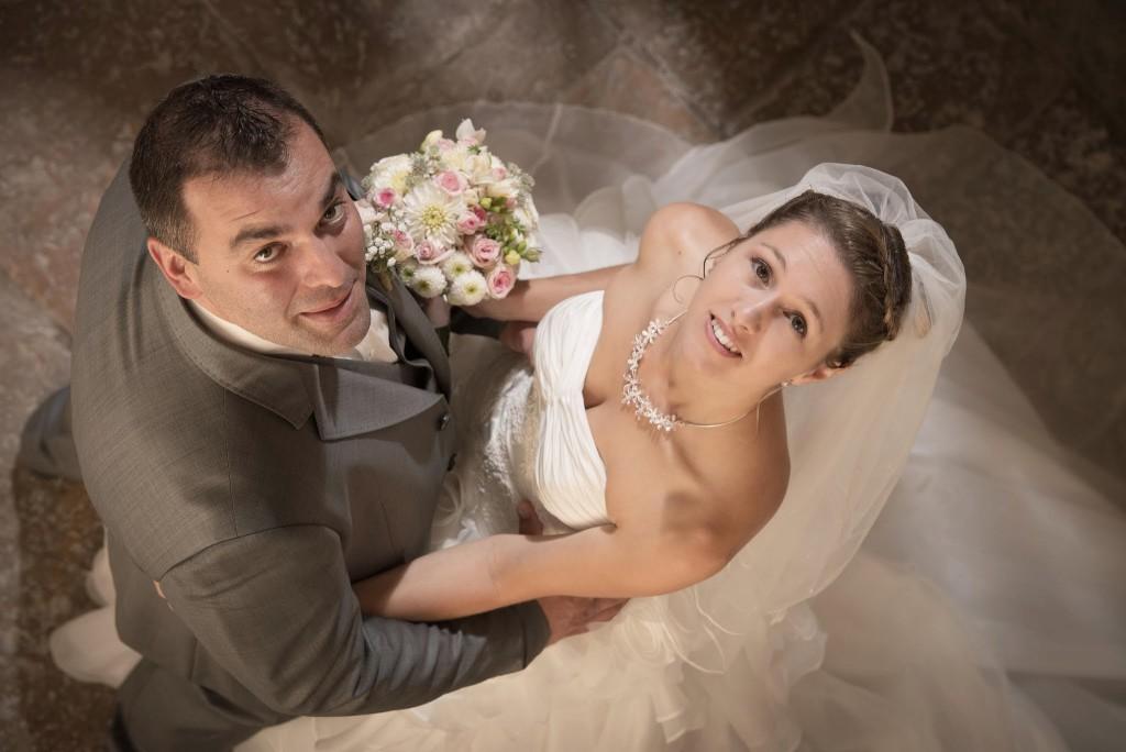 Le mariage champêtre romantique de Cécile avec une touche de rose (5)