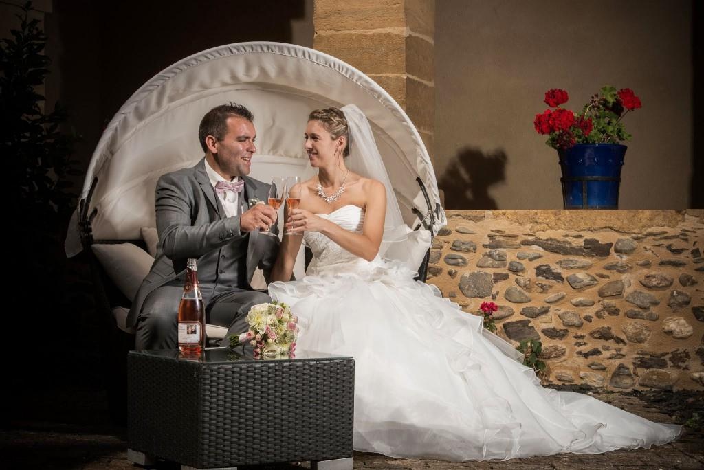 Le mariage champêtre romantique de Cécile avec une touche de rose (7)
