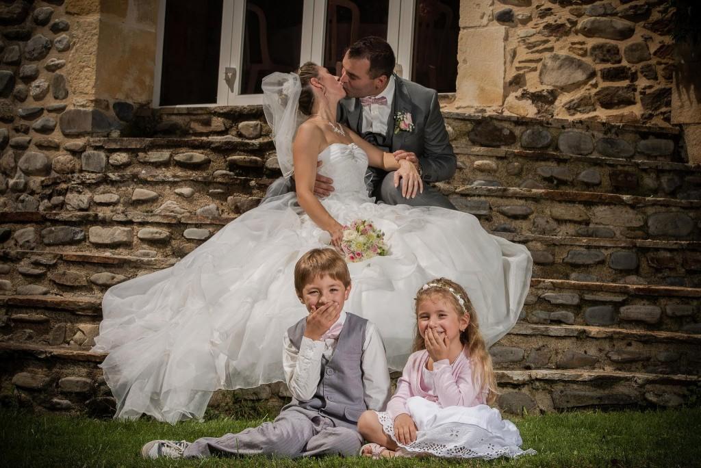 Le mariage champêtre romantique de Cécile avec une touche de rose (8)