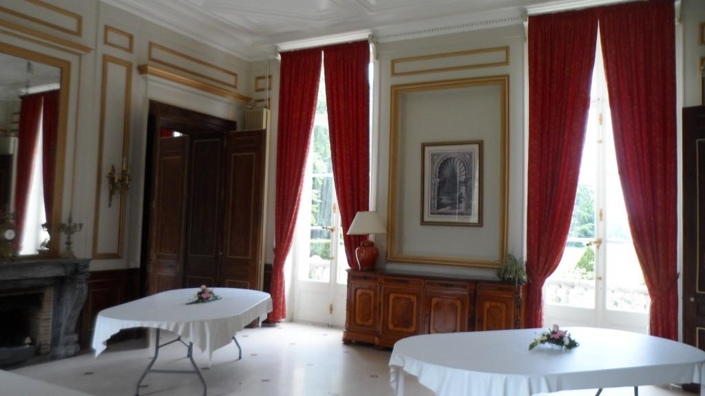 Visite d'un château en Normandie pour notre salle de mariage !