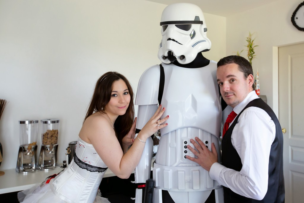 Nos photos de couple décalées, en mode geek // Photo : Joëlle Dejanovski