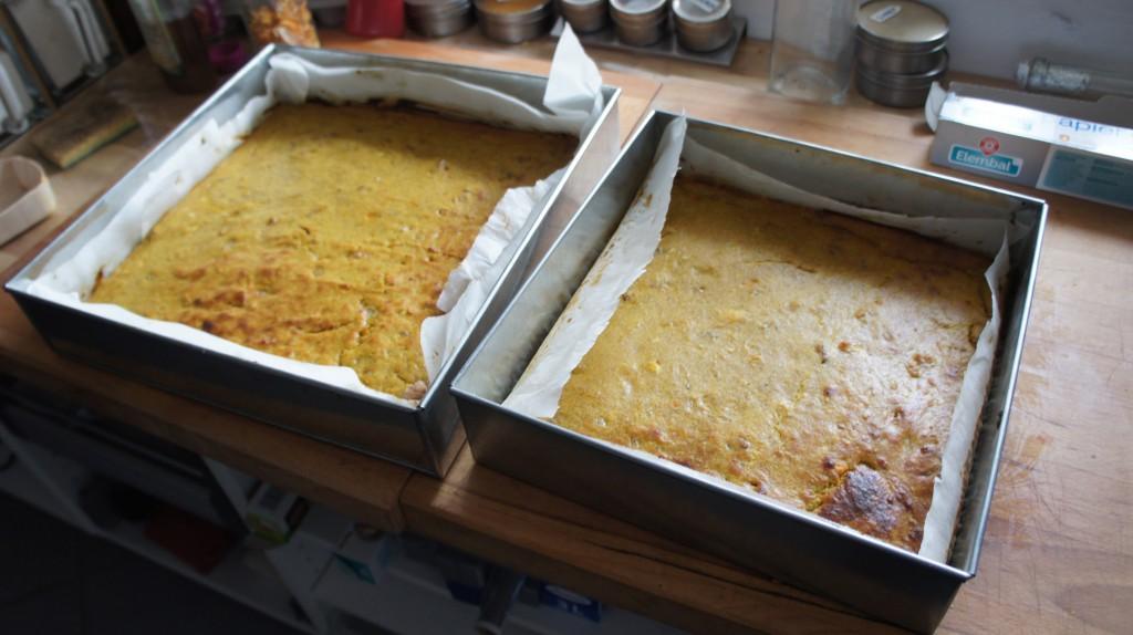 Brownies carotte / chèvre : menu de notre buffet home-made version junkfood pour le mariage