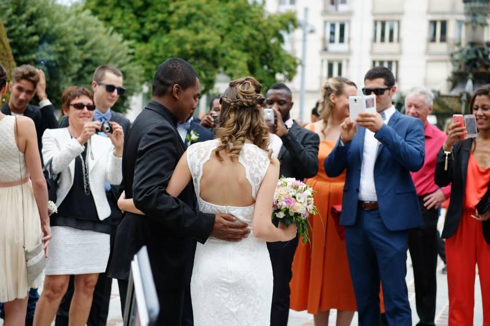 Nos tenues pour la cérémonie civile // Photo : Davis Page Photography