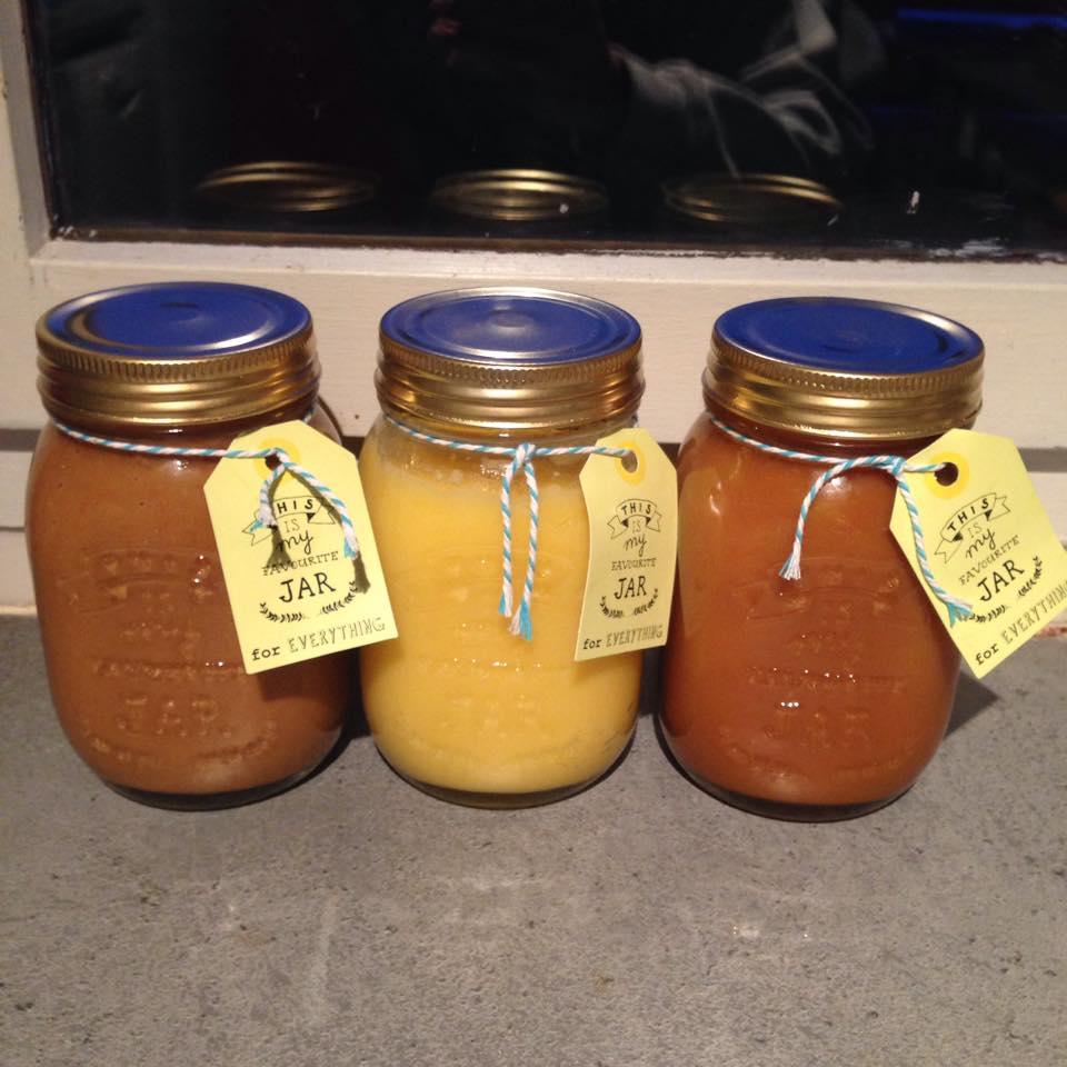 Des toppings home-made pour les crêpes et les gaufres de mon mariage !