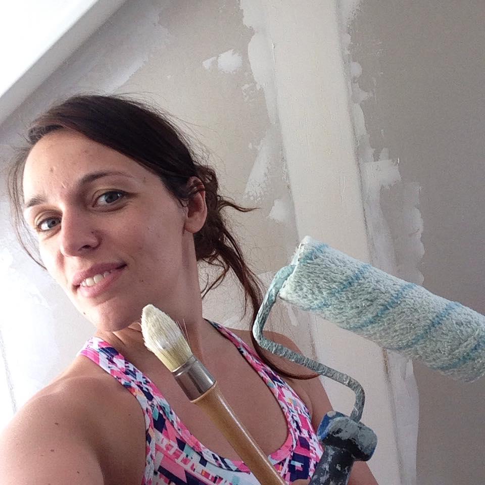 Session peinture pour les derniers préparatifs du jour J !