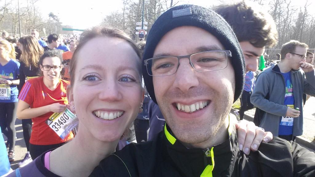 Notre « semi-marathon de fiançailles »