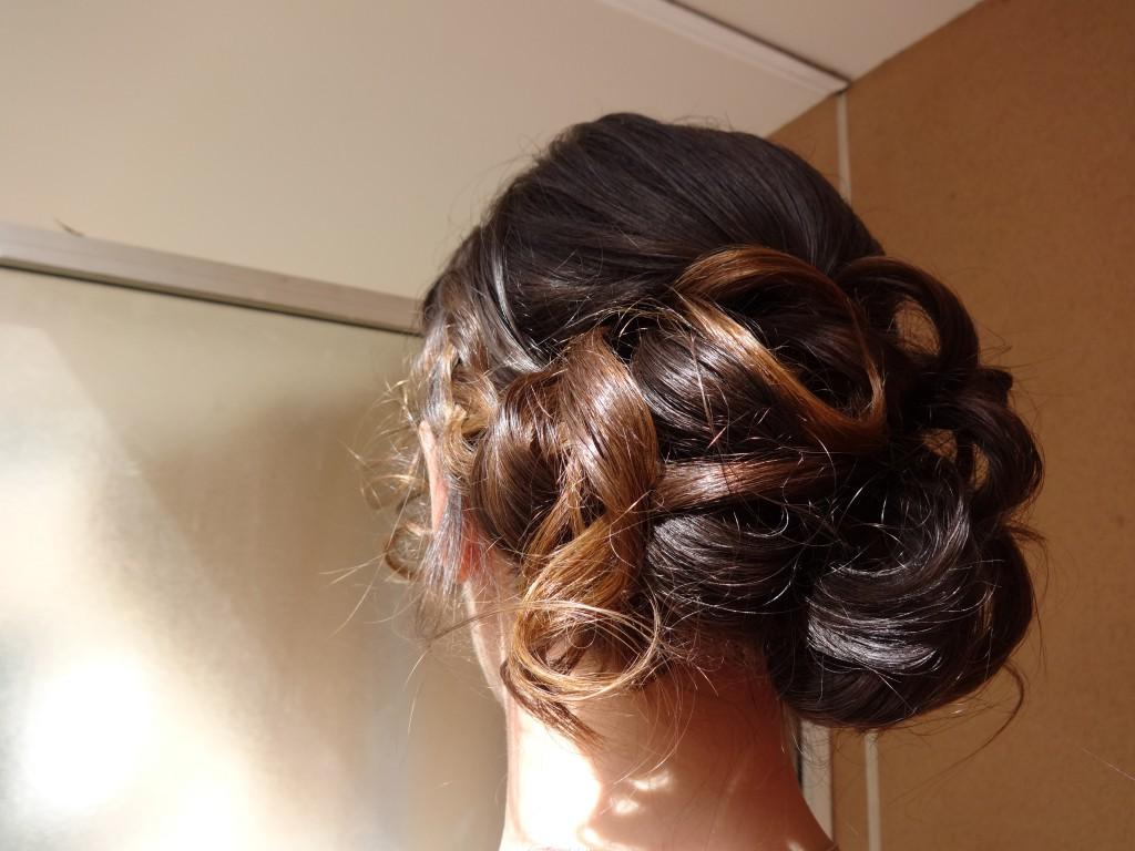 Essais pour ma coiffure de mariée
