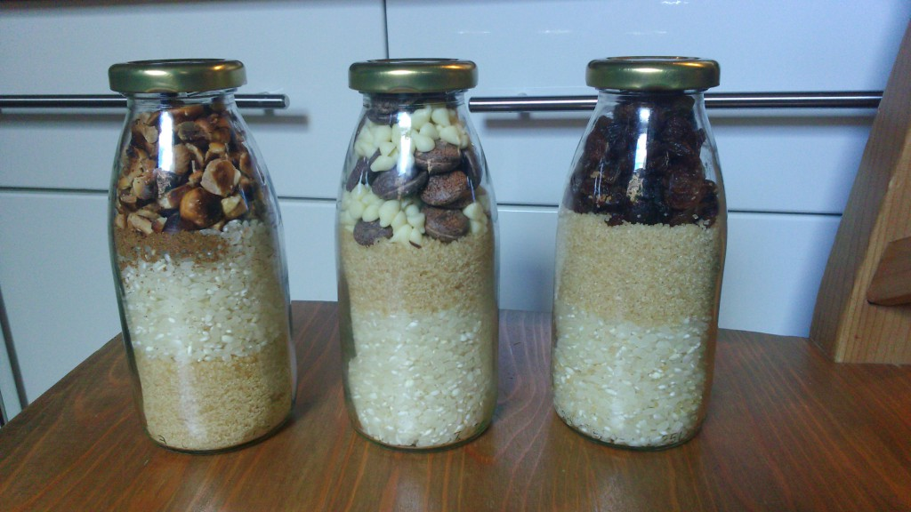 Des recettes de riz au lait comme cadeaux d'invités !