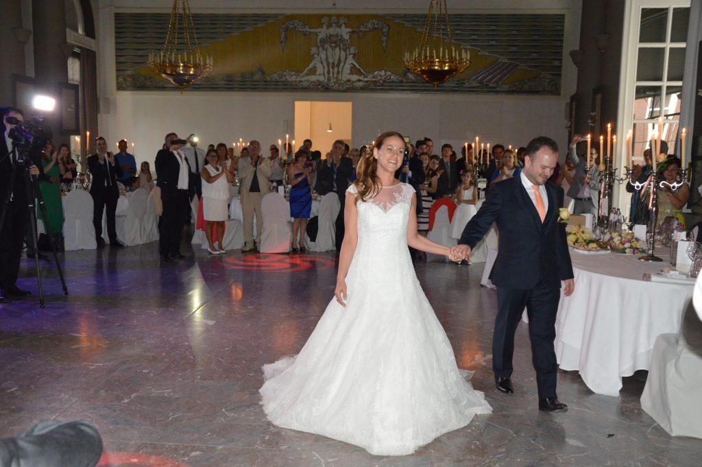 Réception et repas de notre mariage grec