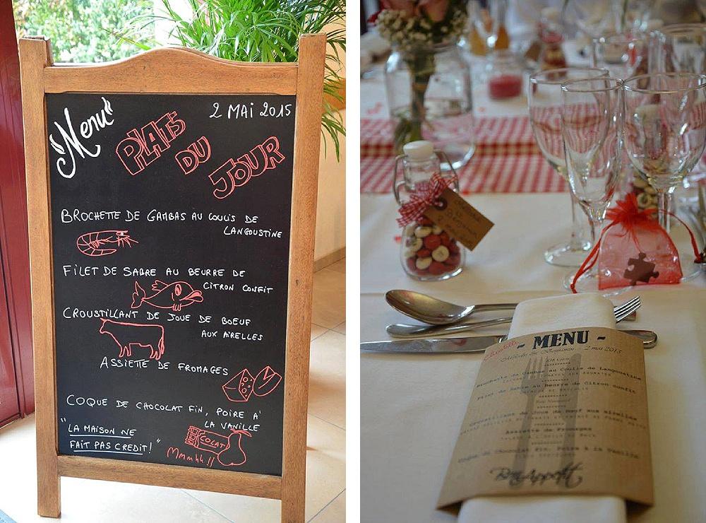 Le mariage de Mélodie sur un thème Bistrot Parisien (13)