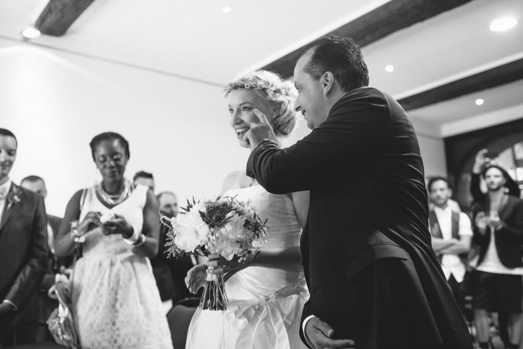 Le mariage rétro-champêtre, loin de chez eux, de Mme Vintage (2)