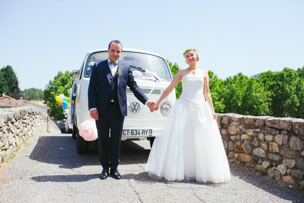 Le mariage rétro-champêtre, loin de chez eux, de Mme Vintage (5)