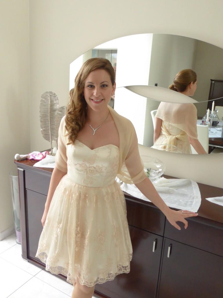 La robe de mon mariage civil !