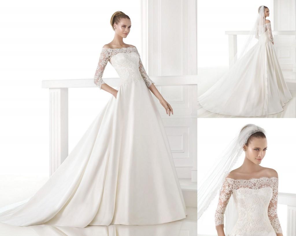 Mes essayages de robes : robe Pronovias