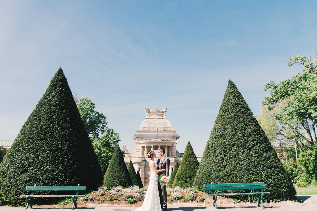 Nos photos de couple au Palais Longchamp // Photo : Amandine Gimenez