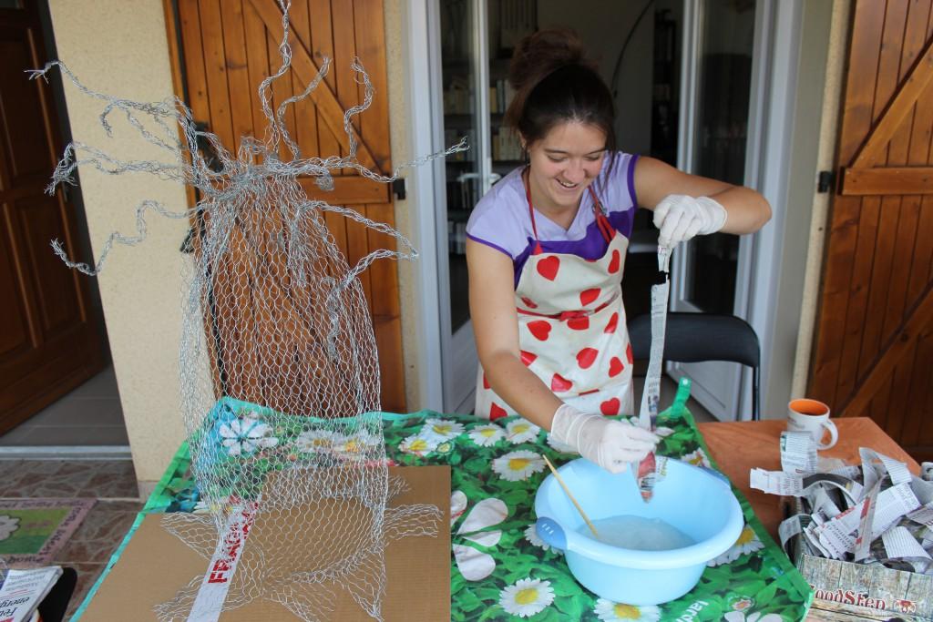 Construire un baobab DIY comme urne de mariage !