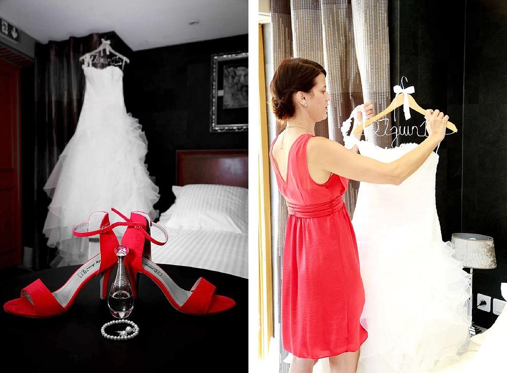 Le mariage d'Émilie avec une cérémonie laïque, beaucoup d'amis et des surprises en pagaille (1)