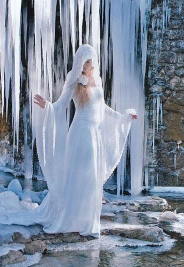 "Robe de mariée style ""elfique"" Andralys"