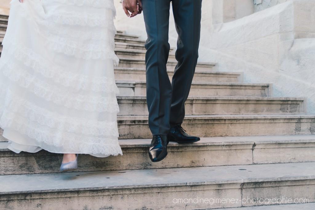 Nos tenues de mariés // Photo : Amandine Gimenez