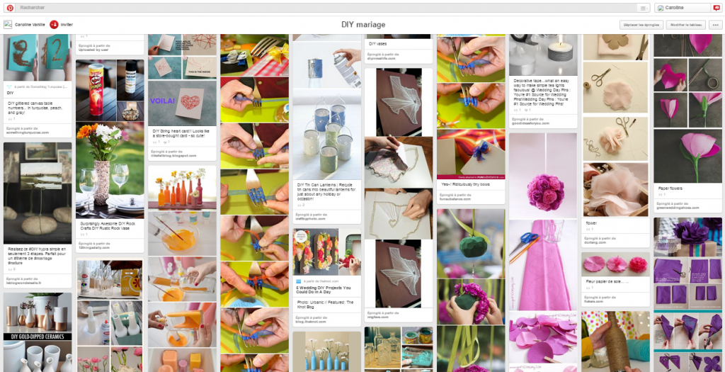 "Aperçu du tableau Pinteret ""DIY"" de Mlle Vanille"