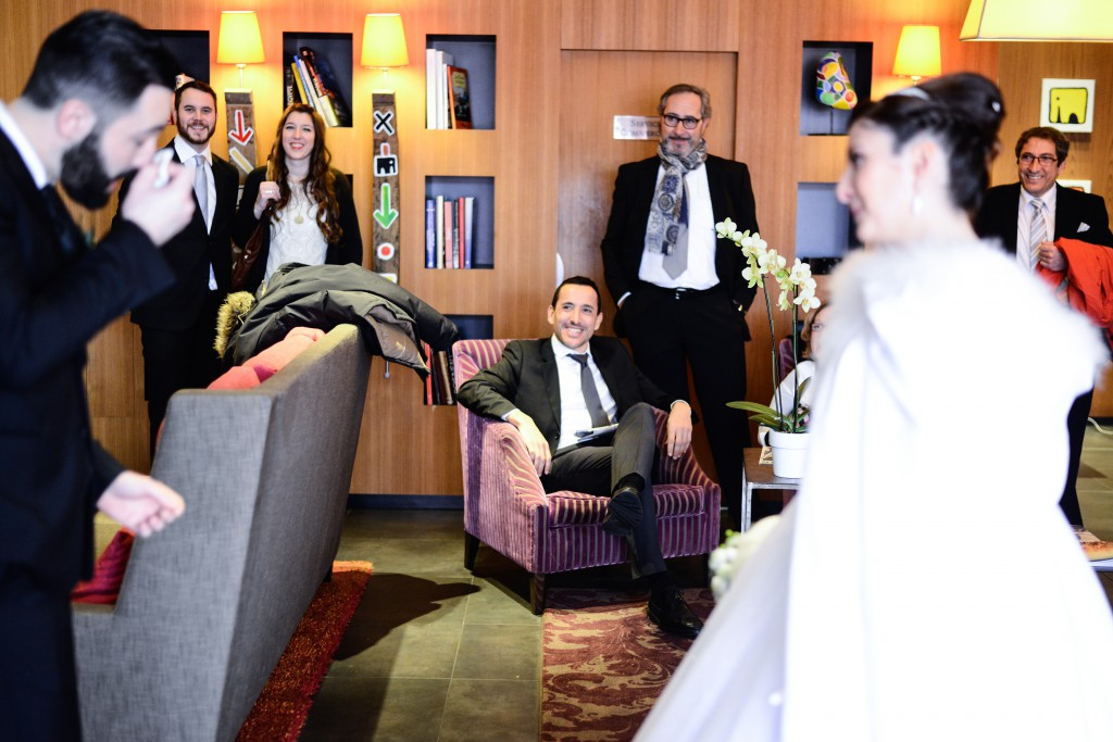Découverte des mariés le jour J !  // Photo : Basile Crespin pour OccitanMultimédia